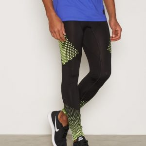 New Look Placement Print Running Tights Treenitrikoot Musta