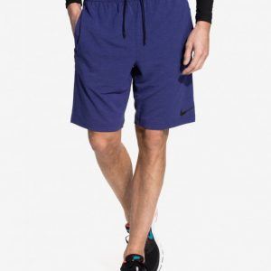 Nike DF Training Fleece 8 Treenishortsit Sininen