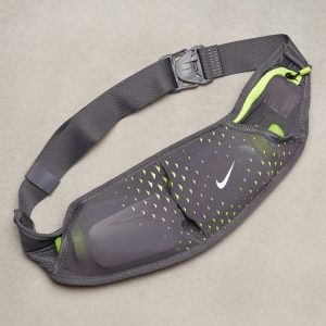 Nike Double Pocket Flask Belt Nestevyö Dark Harmaa
