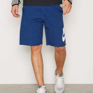 Nike Mens Shorts FT Treenishortsit Sininen/Valkoinen