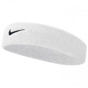 Nike Swoosh Headband Otsapanta Valkoinen