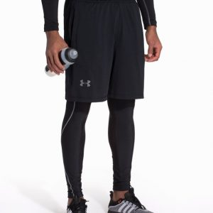 Under Armour 8in Raid Short Treenishortsit Musta