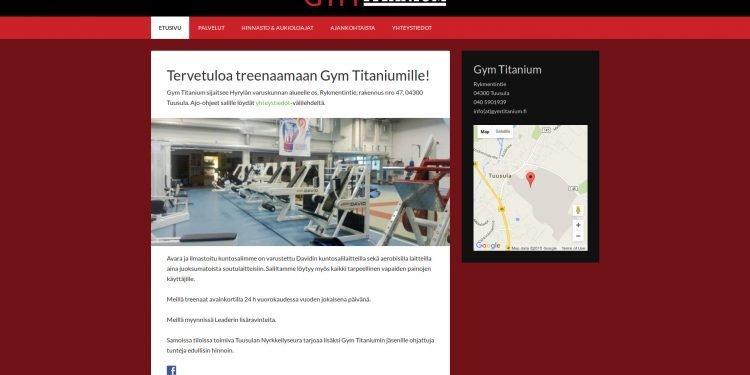 Gym Titanium